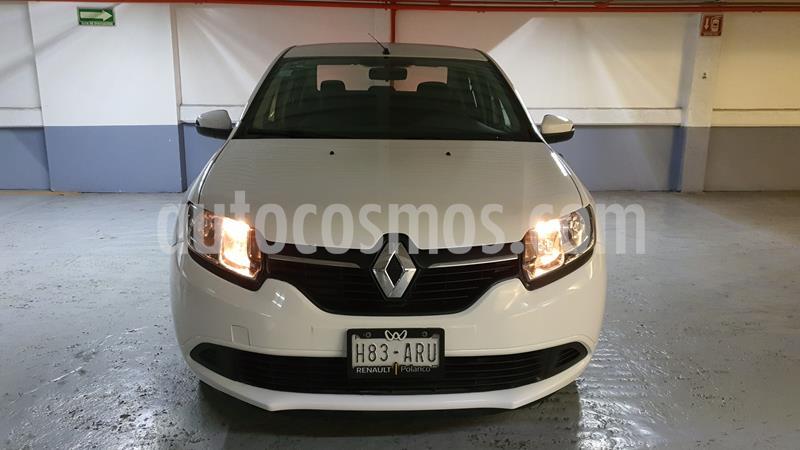 Renault Logan Expression Aut usado (2016) color Blanco Glaciar precio $135,000