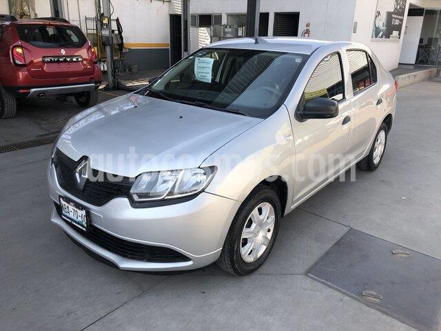 Renault Logan Authentique usado (2017) color Plata precio $135,000