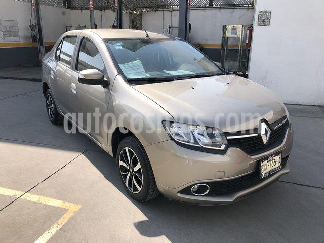 Renault Logan Intens Aut usado (2019) color Beige Arena precio $190,000