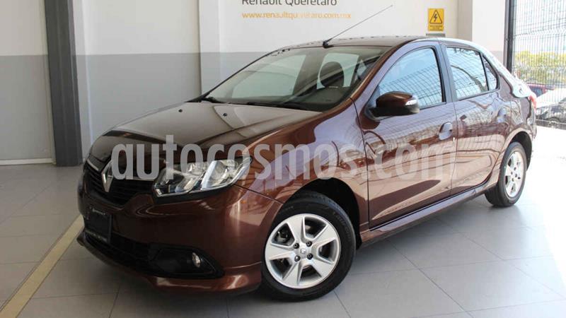 Renault Logan Dynamique usado (2015) color Cafe precio $118,000