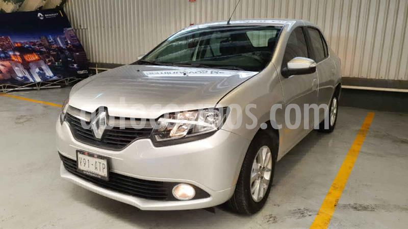Renault Logan Intens Aut usado (2018) color Plata precio $169,000