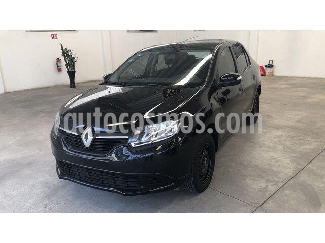 Renault Logan Expression usado (2017) color Negro Nacarado precio $140,000