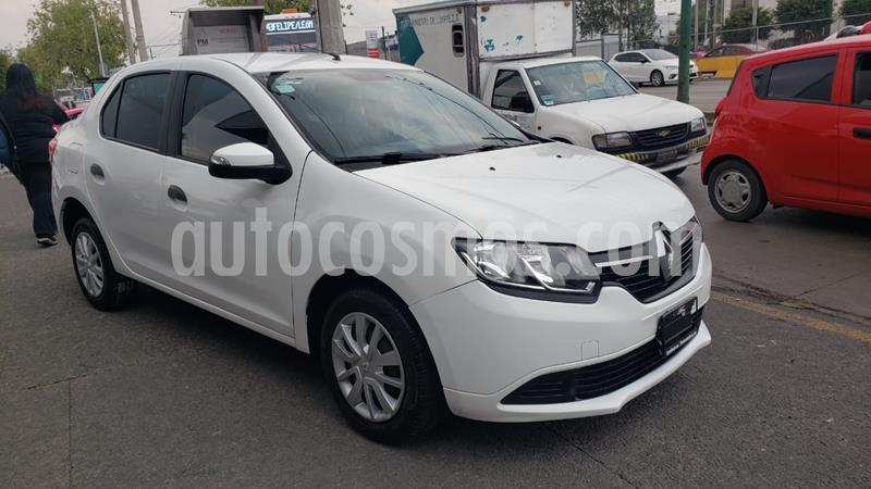 Renault Logan Expression usado (2017) color Blanco Glaciar precio $140,000