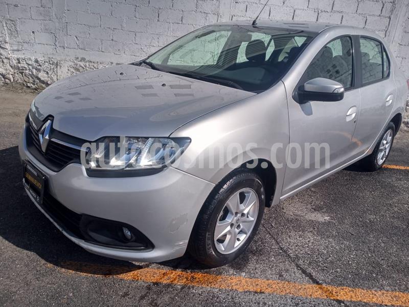 Renault Logan Dynamique usado (2015) color Plata precio $110,000