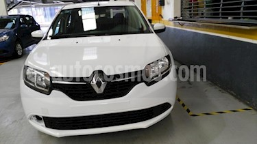 Renault Logan 4P EXPRESSION L4/1.6 AUT usado (2016) color Blanco precio $120,000