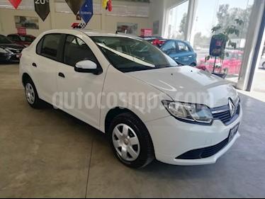 Renault Logan Expression usado (2017) color Blanco Glaciar precio $110,000