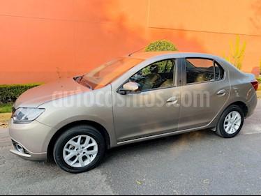 Renault Logan Intens usado (2018) color Beige Arena precio $132,000