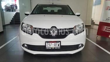 Renault Logan 4P EXPRESSION L4/1.6 AUT usado (2016) color Blanco precio $149,900