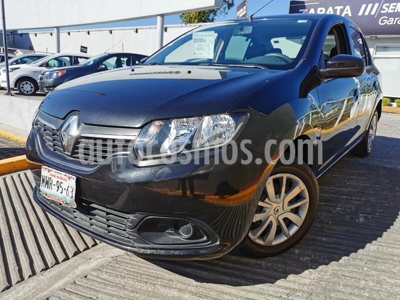 Renault Logan Expression usado (2015) color Negro Nacarado precio $115,000