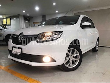 Renault Logan 5p Intens L4/1.6 Man usado (2018) color Blanco precio $179,000