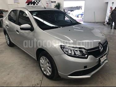 Renault Logan Expression Aut usado (2017) color Plata precio $159,000