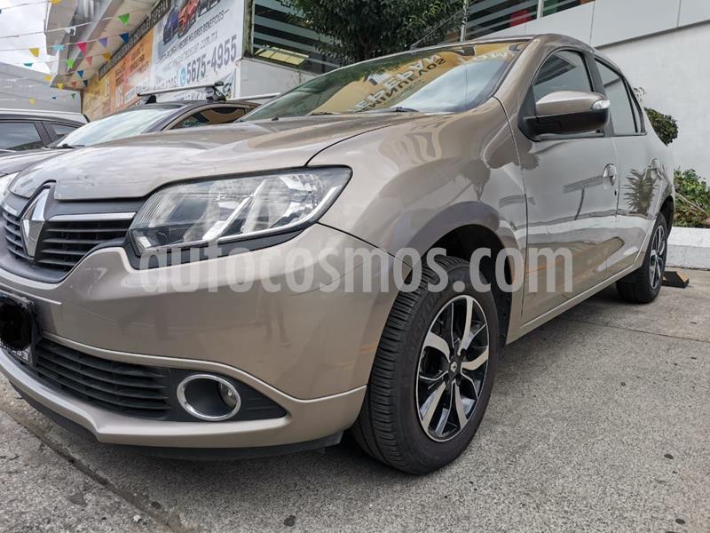 Renault Logan Intens Aut usado (2018) color Granito precio $175,000