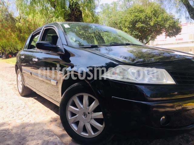 Renault Megane 2.0L 4P Expression Piel usado (2007) color Negro precio $65,000
