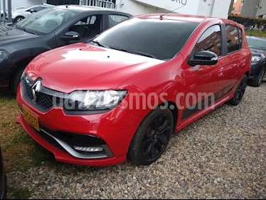 Renault Sandero R.S. 2.0L usado (2017) color Rojo precio $38.500.000