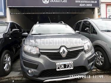 Foto venta Auto usado Renault Sandero Stepway 1.6 Dynamique (2015) color Gris Oscuro precio $359.000