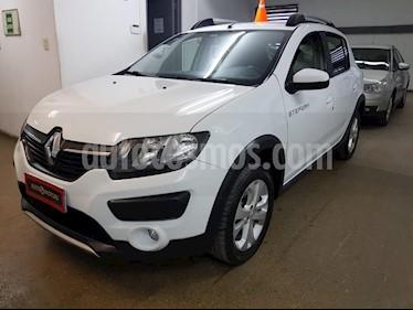 Foto venta Auto usado Renault Sandero Stepway 1.6 Dynamique (2016) color Blanco precio $525.000
