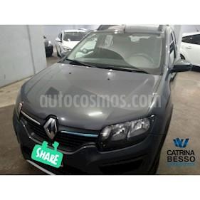 Foto venta Auto usado Renault Sandero Stepway 1.6 Dynamique (2015) color Gris Oscuro precio $390.000