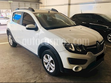 Foto venta Auto usado Renault Sandero Stepway 1.6 Privilege NAV (2017) color Blanco Glaciar precio $559.000