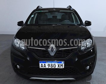 Renault Sandero Stepway 1.6 Privilege usado (2017) color Negro precio $680.000