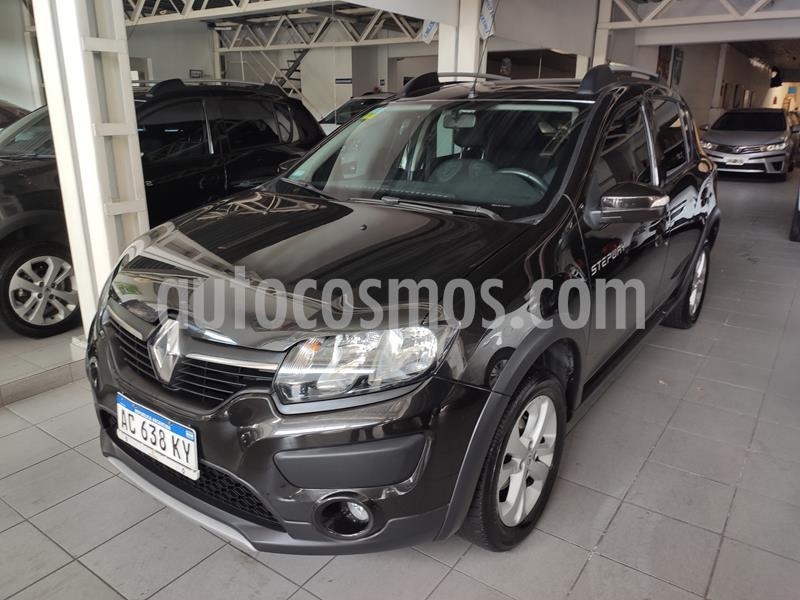 Renault Sandero Stepway 1.6 Expression usado (2018) color Negro precio $860.000