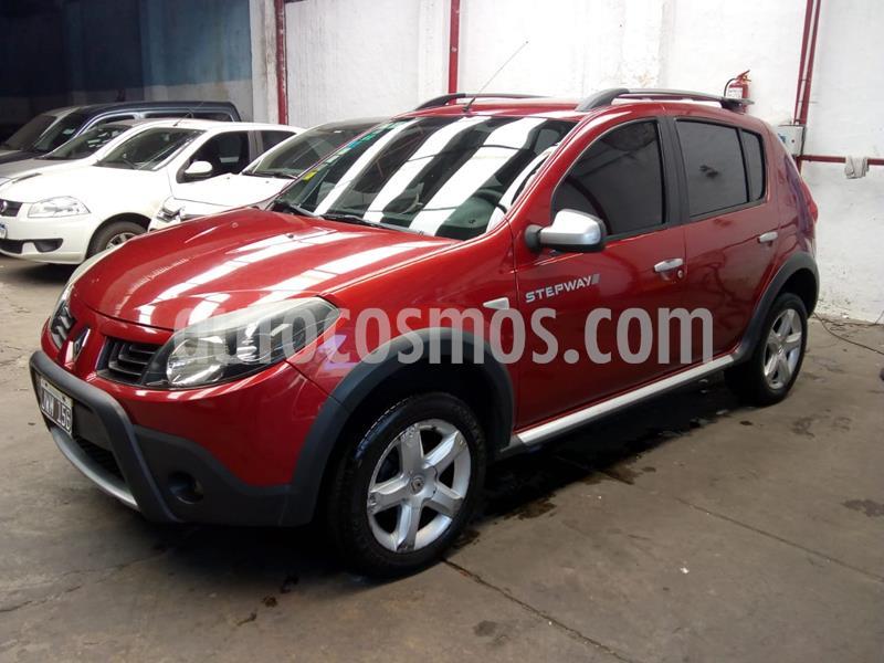 Renault Sandero Stepway 1.6 Confort usado (2011) color Rojo precio $678.000