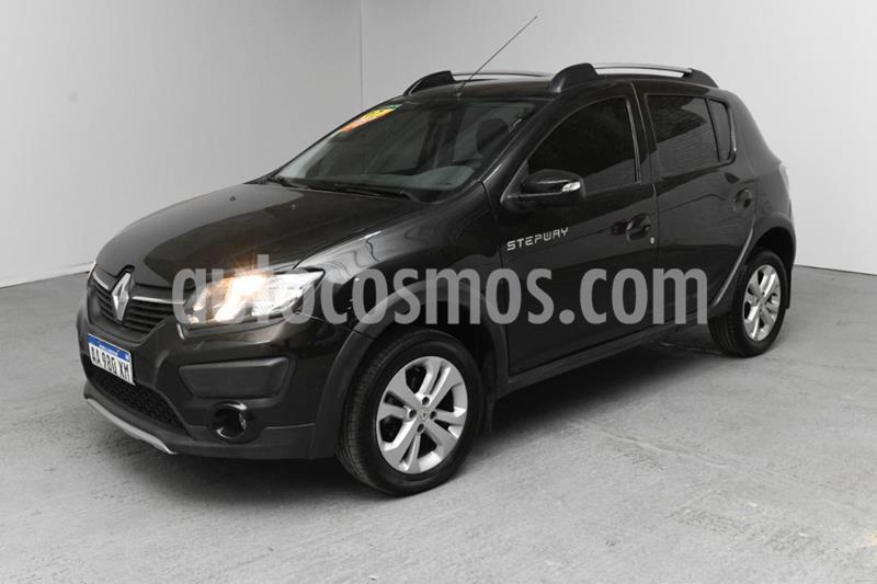 Renault Sandero Stepway 1.6 Privilege usado (2017) color Negro precio $920.000
