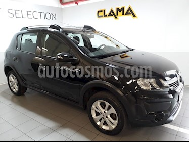 Renault Sandero Stepway 1.6 Privilege usado (2016) color Negro Nacre precio $690.000