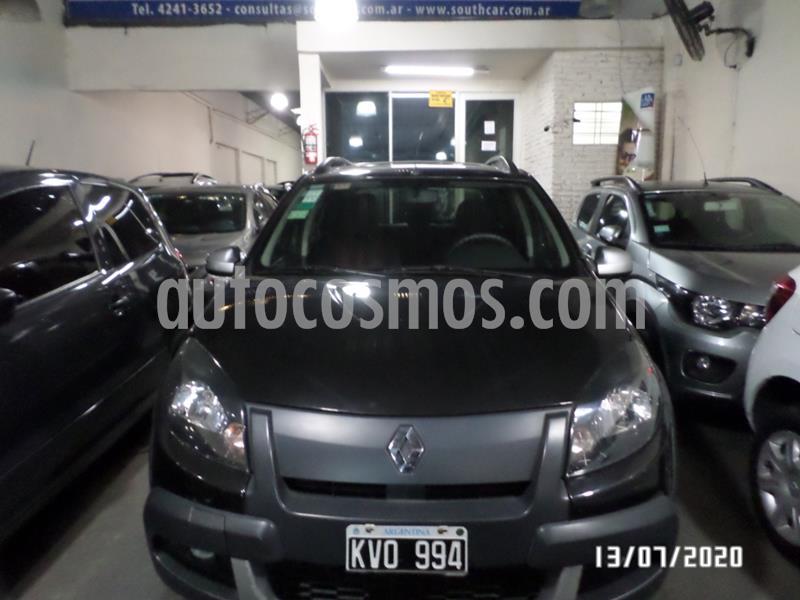 Renault Sandero Stepway 1.6L Privilege usado (2012) color Negro precio $535.000