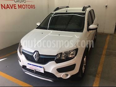Renault Sandero Stepway 1.6 Privilege usado (2018) color Blanco precio $780.000