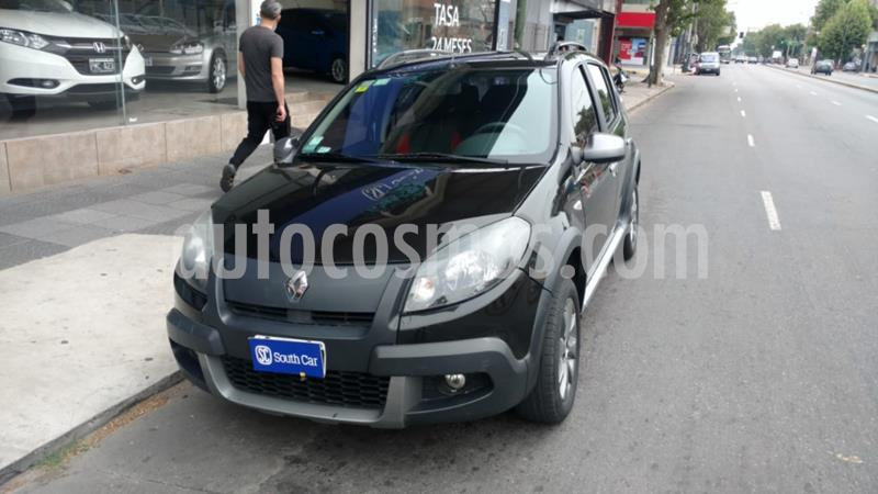 Renault Sandero Stepway 1.6L Rip Curl usado (2012) color Negro precio $500.000