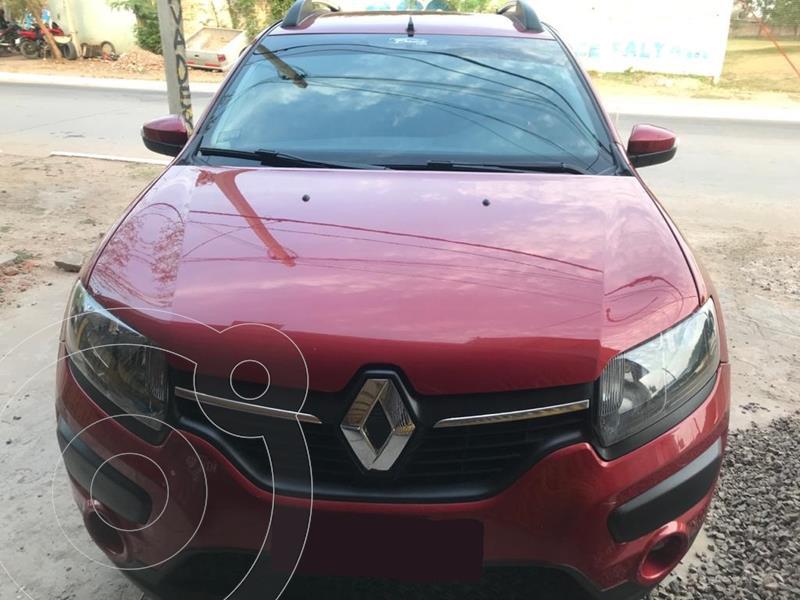Renault Sandero Stepway 1.6 Privilege usado (2018) color Rojo precio $1.180.000