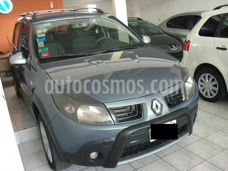 Renault Sandero Stepway Fase Ii Confort 1.6 16v usado (2011) color Gris Oscuro precio $449.900