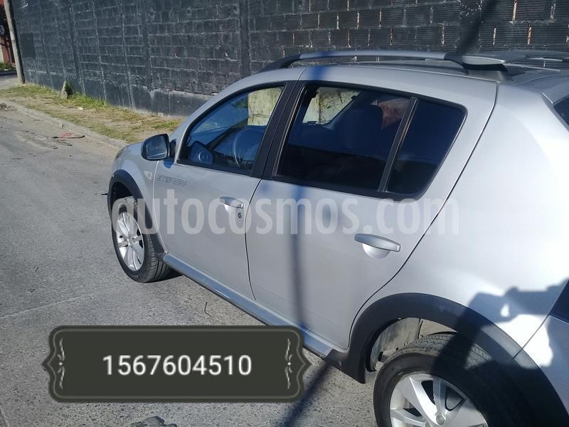 Renault Sandero Stepway 1.6 Dynamique usado (2011) color Plata precio $610.000