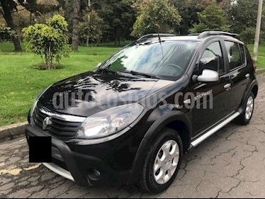 Renault Sandero Stepway 1.6L Full  usado (2012) color Negro precio $16.000.000