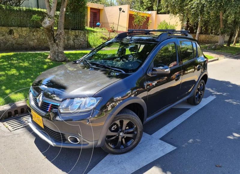 Renault Sandero Stepway Dynamique  usado (2018) color Negro precio $47.900.000