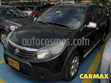 Renault Sandero Stepway Dynamique usado (2011) color Negro precio $23.900.000