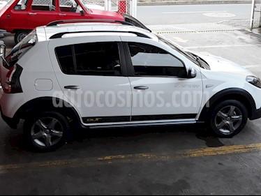 Renault Sandero Stepway Trek Intens   usado (2015) color Blanco Glaciar precio $32.300.000