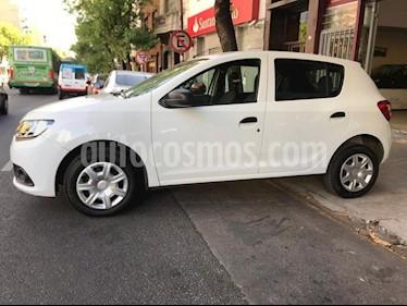 Foto venta Auto usado Renault Sandero - (2018) color Blanco precio $350.000