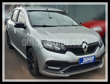 Renault Sandero 1.6 Authentique Pack II usado (2016) color Gris Claro precio $600.000