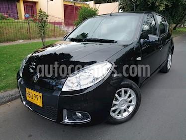 Foto venta Carro Usado Renault Sandero 1.6 Dynamique Mec 5P (2013) color Negro precio $25.900.000