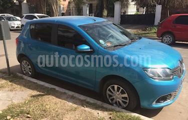 Foto venta Auto usado Renault Sandero 1.6 Dynamique (2015) color Aguamarina precio $315.000