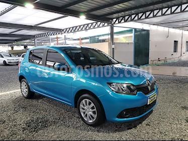 Foto venta Auto usado Renault Sandero 1.6 Dynamique (2016) color Azul Aquamarine precio $389.000