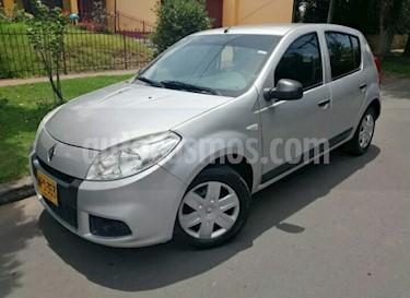 Foto venta Carro usado Renault Sandero 1.6 Expression Mec 5P (2013) color Plata precio $23.500.000