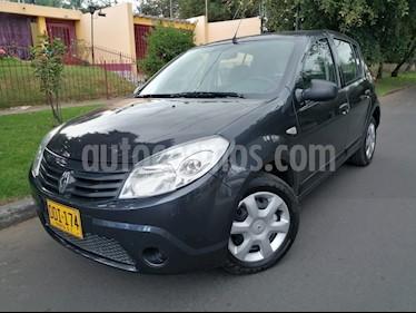 Foto venta Carro Usado Renault Sandero 1.6 Expression Mec 5P (2010) color Negro precio $19.800.000