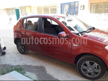 Foto venta Carro usado Renault Sandero 1.6 Expression Mec 5P (2016) color Rojo precio $28.000.000