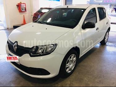 Foto Renault Sandero 1.6 Expression Pack usado (2018) color Blanco Glaciar precio $529.000