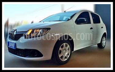 Renault Sandero 1.6 Expression Pack usado (2017) color Blanco precio $530.000