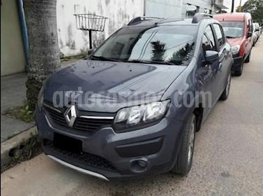 Foto venta Auto Usado Renault Sandero 1.6 GT Line (2015) color Gris Oscuro precio $350.000