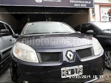 Foto venta Auto usado Renault Sandero 1.6 Luxe (2008) color Azul precio $192.000