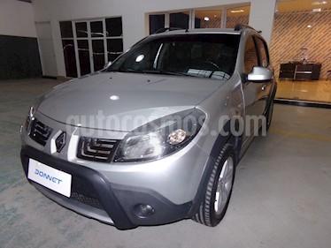 Foto venta Auto Usado Renault Sandero 1.6 Luxe (2012) color Gris Acier